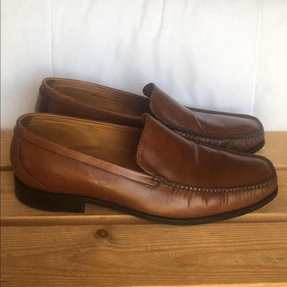 d9482fe1a4 Cole Haan Shoes | Brown Leather Slip On Loafers C05195 | Poshmark